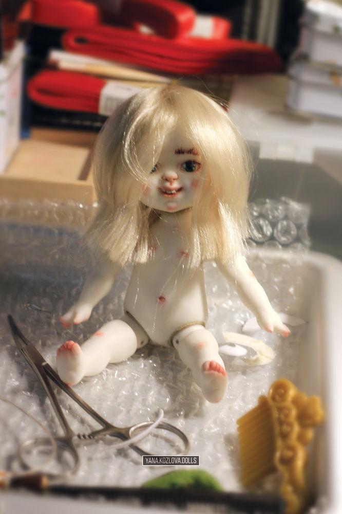 гномик, yana kozlova dolls