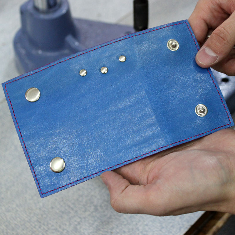 Tutorial on Making a Leather Key Bag, фото № 23