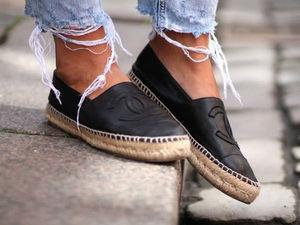 Эспадрильи: обувь бедняков, покорившая модный Олимп. Ярмарка Мастеров - ручная работа, handmade.