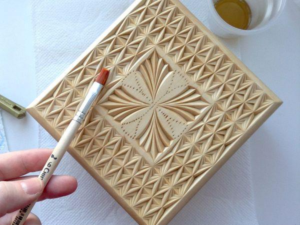 Отделка резных работ Датским маслом | Ярмарка Мастеров - ручная работа, handmade