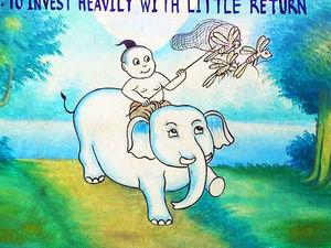 На слонах за кузнечиками: мудрость поколений в Тайских пословицах. Ярмарка Мастеров - ручная работа, handmade.
