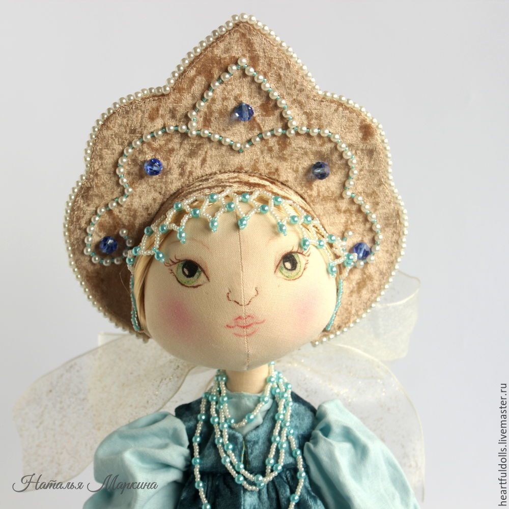 Шьем текстильную куклу Аленушку, фото № 46