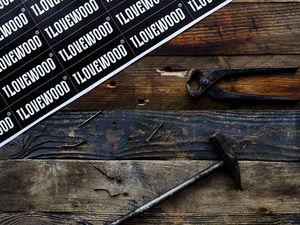 Акция — 2 брашированных фотофона за 3500 руб., вместо 4000 руб. Ярмарка Мастеров - ручная работа, handmade.