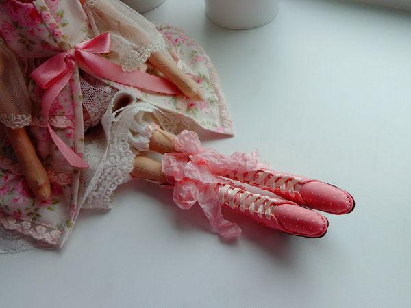 Как сделать выкройку миниатюрных сапожек для Тильды | Ярмарка Мастеров - ручная работа, handmade
