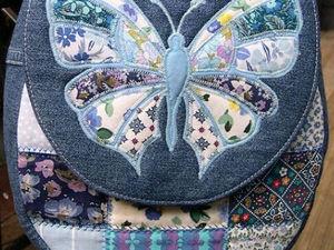 Вторая жизнь джинсов в образе милых сумочек. Ярмарка Мастеров - ручная работа, handmade.