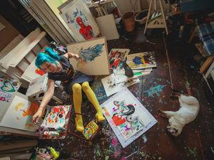 Необычное творчество российского концептуалиста-иллюстратора — Лоры Зомби. Ярмарка Мастеров - ручная работа, handmade.