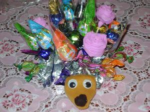 Букеты из конфет | Ярмарка Мастеров - ручная работа, handmade