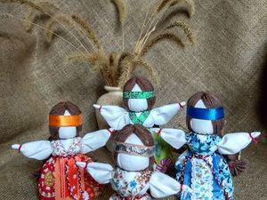 Народные куколки Желанницы. Ярмарка Мастеров - ручная работа, handmade.