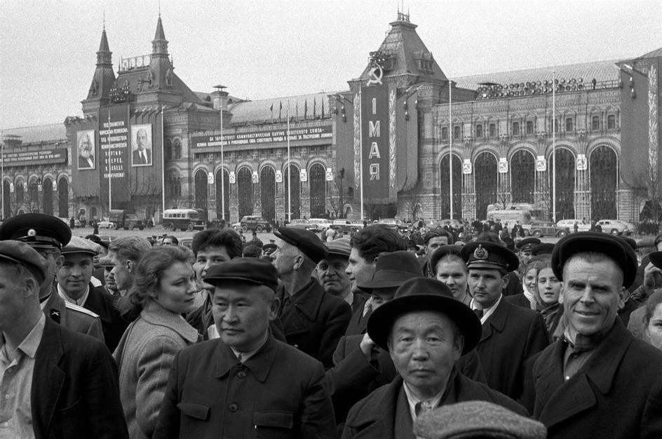 Lessing36 Москва 1958 года в фотографиях Эриха Лессинга