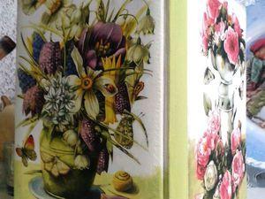 «Кожаные истории»: делаем ежедневник в технике декупаж СКИДКА! | Ярмарка Мастеров - ручная работа, handmade