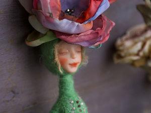 Куколка цветочная фея Аврора (дополнительные фотографии) | Ярмарка Мастеров - ручная работа, handmade
