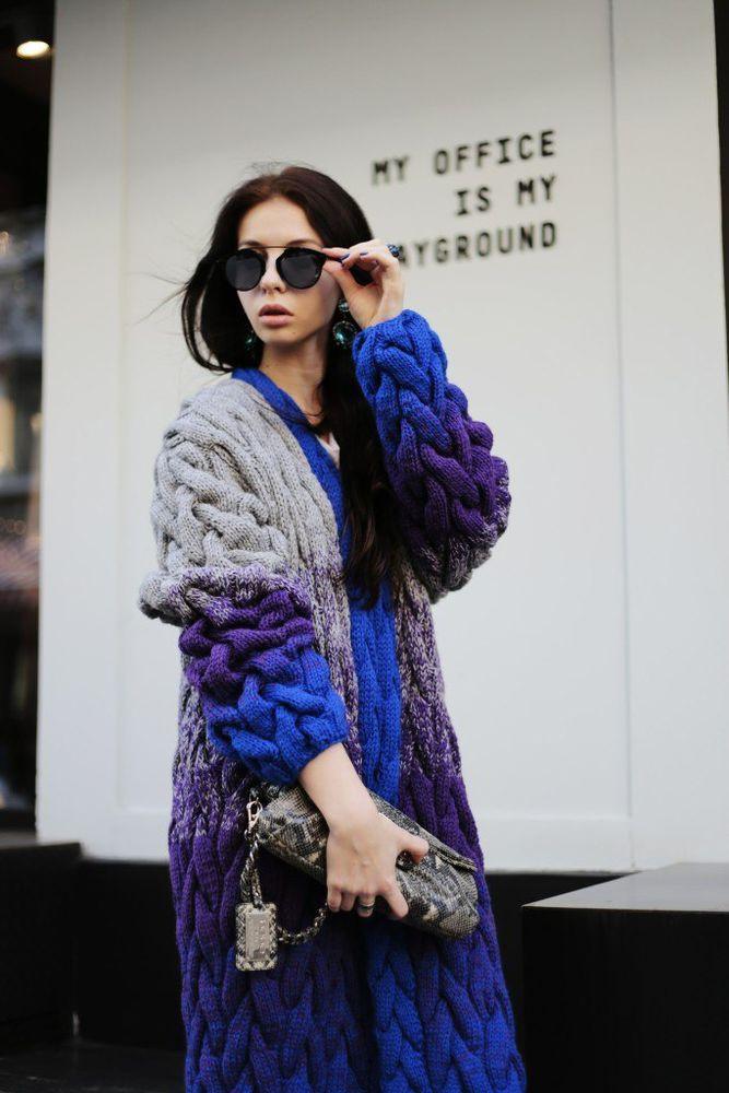 кардиган, заказать кардиган, пальто, синий, стильный