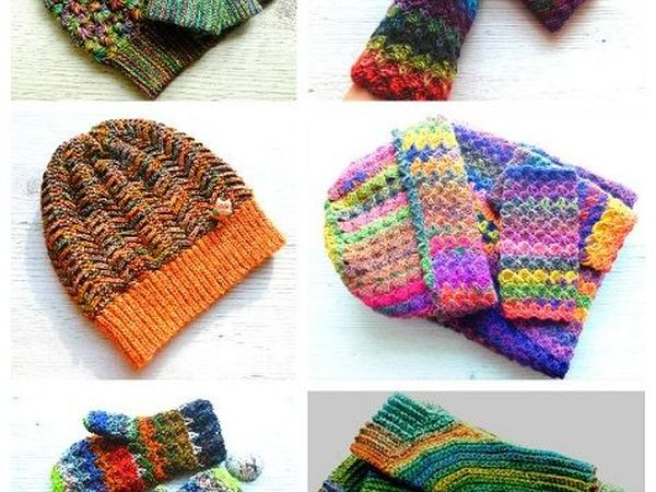 Скидка от 10 до 30% на яркие шапочки и все, что с ними связано   Ярмарка Мастеров - ручная работа, handmade