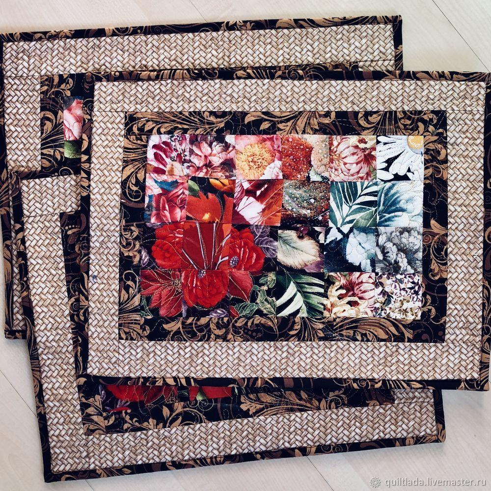 Как сделать новогодний подарок? Текстильный ланчмат своими руками, часть 4, фото № 2