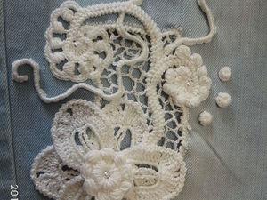 Способы соединения ткани с ирландским кружевом. Ярмарка Мастеров - ручная работа, handmade.