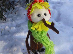 Шьем героя мультфильма «Новогодняя сказка» — Чудище-Снежище. Часть 2. Ярмарка Мастеров - ручная работа, handmade.