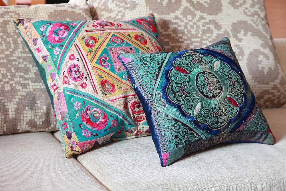 интерьерные подушки, подобрать подушки в дом