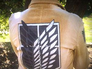 Как сделать нашивки на одежду, на примере шевронов «Крылья свободы». Видеоурок. Ярмарка Мастеров - ручная работа, handmade.