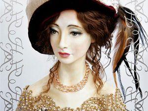 Лепка головы куклы из паперклея (индивидуальное занятие) | Ярмарка Мастеров - ручная работа, handmade
