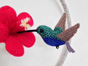 About to Fly: Realistic Knitted Birds by Jose Heroys. Livemaster - handmade