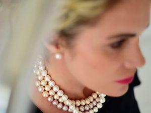 Акция! Серьги или браслет в подарок при покупке ожерелья!. Ярмарка Мастеров - ручная работа, handmade.