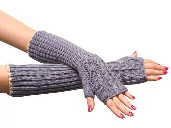 Knitted Mittens — A Fashion Trend of the Season | Livemaster - handmade