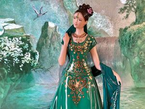Статуэтка Изумрудная Принцесса Royal Worcester. Ярмарка Мастеров - ручная работа, handmade.