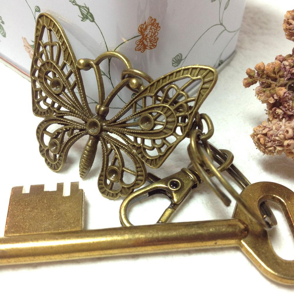 бабочка в подарок, брелоки для ключей