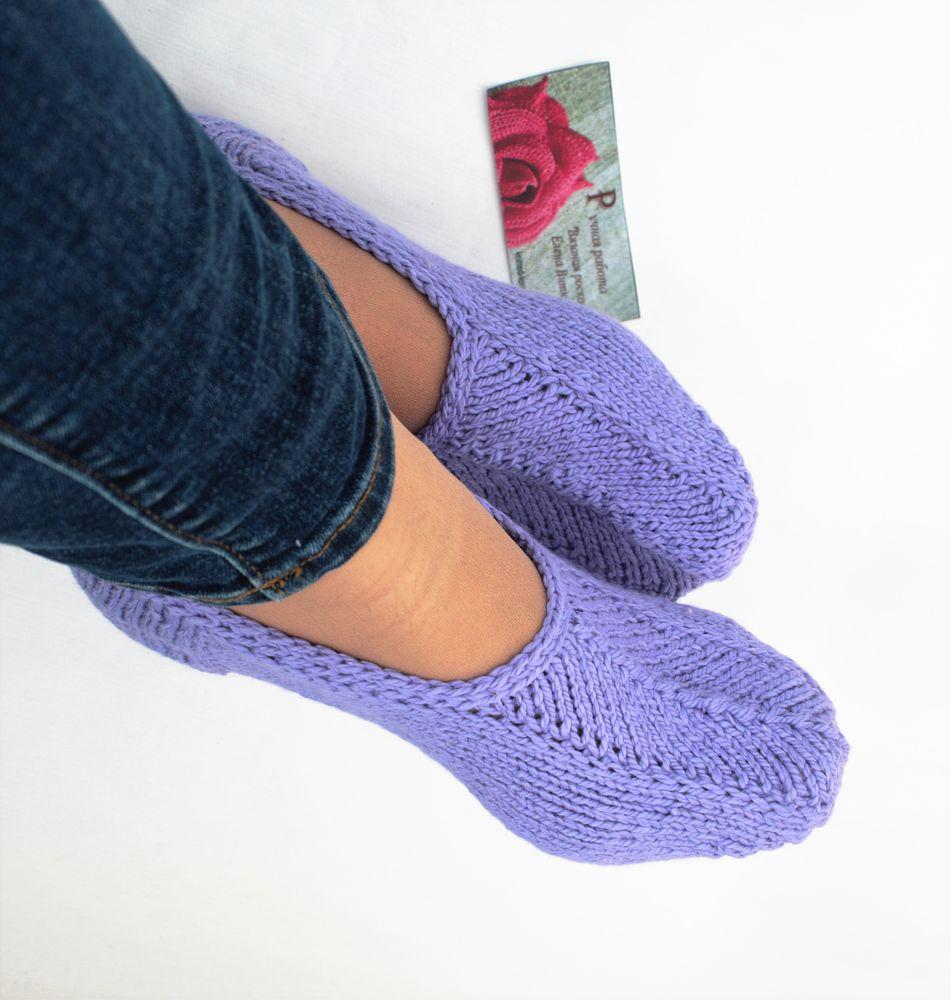 подследники вязаные, вязаные носки, носки хлопковые
