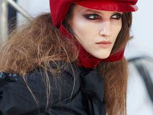 Показ на MBFW Russia IVANOVA с коллекцией наших шляп, шлемов. Ярмарка Мастеров - ручная работа, handmade.
