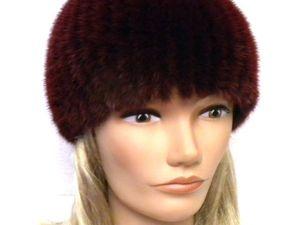 Норковая шапка -50%. Ярмарка Мастеров - ручная работа, handmade.