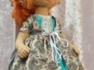 У куклы, как у девочки,  У девочки живой,  Не только бант и платьице,  Но и характер свой.. Ярмарка Мастеров - ручная работа, handmade.