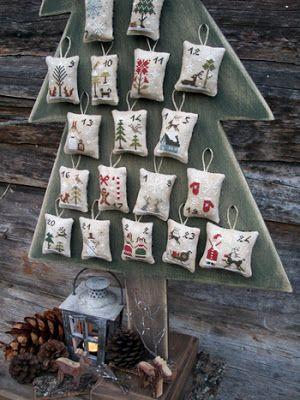 календарь, норвежские традиции, норвежское рождество
