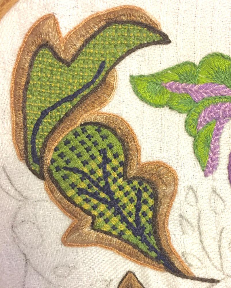 якобинская вышивка, вышивка крестиком, схемы для вышивания