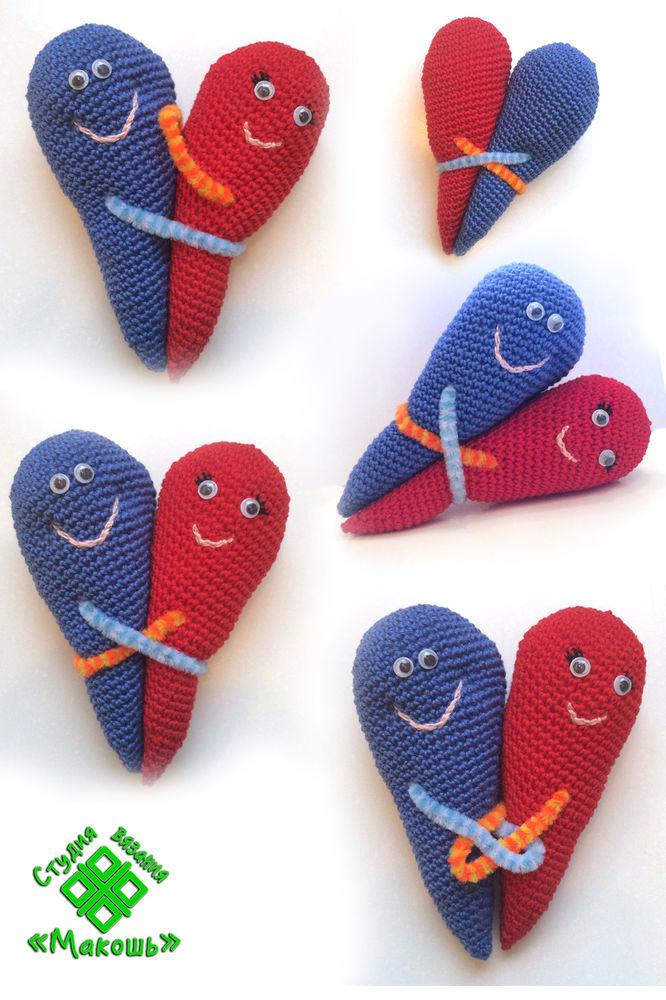день святого валентина, день влюбленных, для любимых, вязание, вязаная игрушка