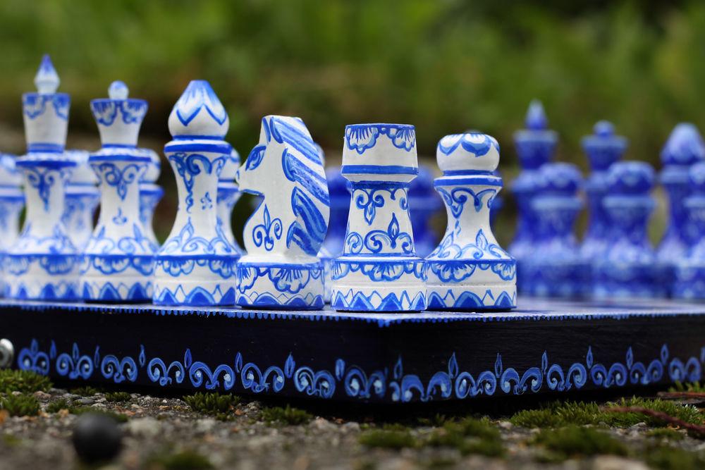 фотография на природе, синий цвет