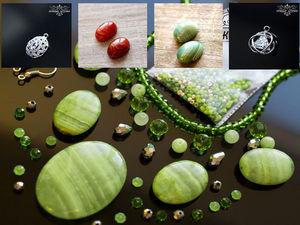 Новинки магазина: подвески с кристаллами, кабошоны и наборы для колье | Ярмарка Мастеров - ручная работа, handmade