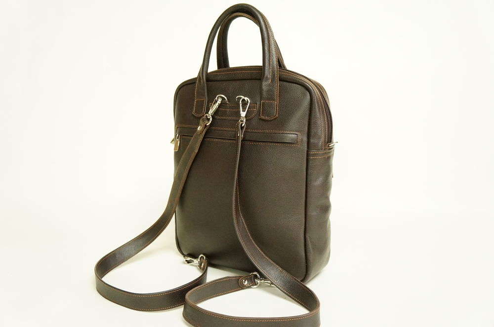 сумка кожаная, сумка рюкзак