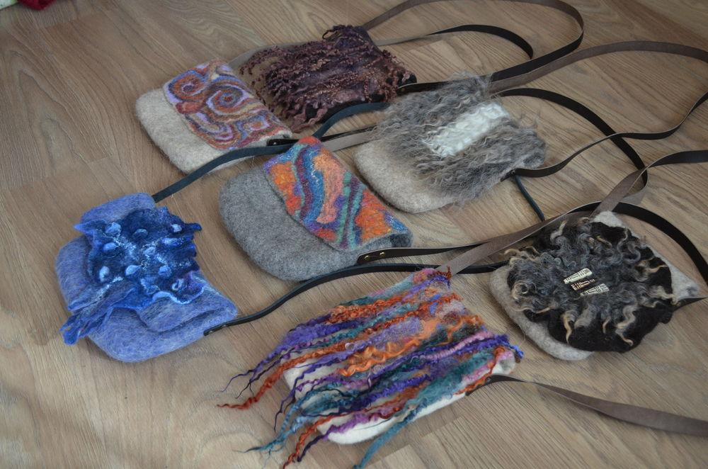 сумочки валяные, сумочки женские, натуральная шрсть, валяный клатч, клатч для девушки