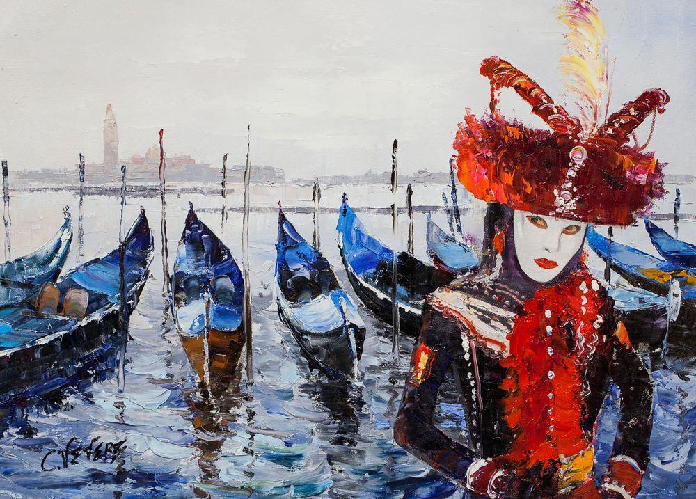 карнавал, венецианская маска, скидка 15%, картина в подарок, подарок своими руками, памятный подарок