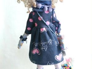 Обзор куклы | Ярмарка Мастеров - ручная работа, handmade