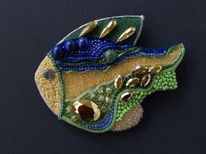Рыбка по привлекательной цене.. Ярмарка Мастеров - ручная работа, handmade.