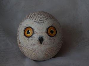 Сегодня родился белый совенок) | Ярмарка Мастеров - ручная работа, handmade