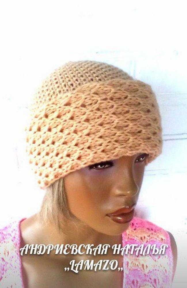 шапка вязаная, lamazo