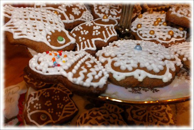 кулинария, печенье, печенье расписное