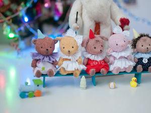 Под Новый год приходит сказка в детский сад. Ярмарка Мастеров - ручная работа, handmade.