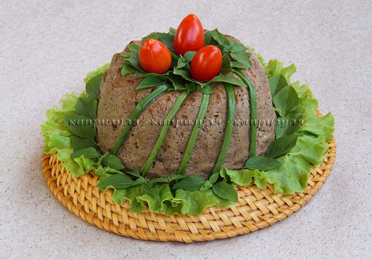 мясной, кекс из мяса, горячее блюдо, рецепт мясного кекса, рецепт от капизули, рецепт без глютена, блюдо без глютена