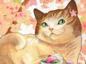 Котики обожают праздники: готовимся к Пасхе. Ярмарка Мастеров - ручная работа, handmade.