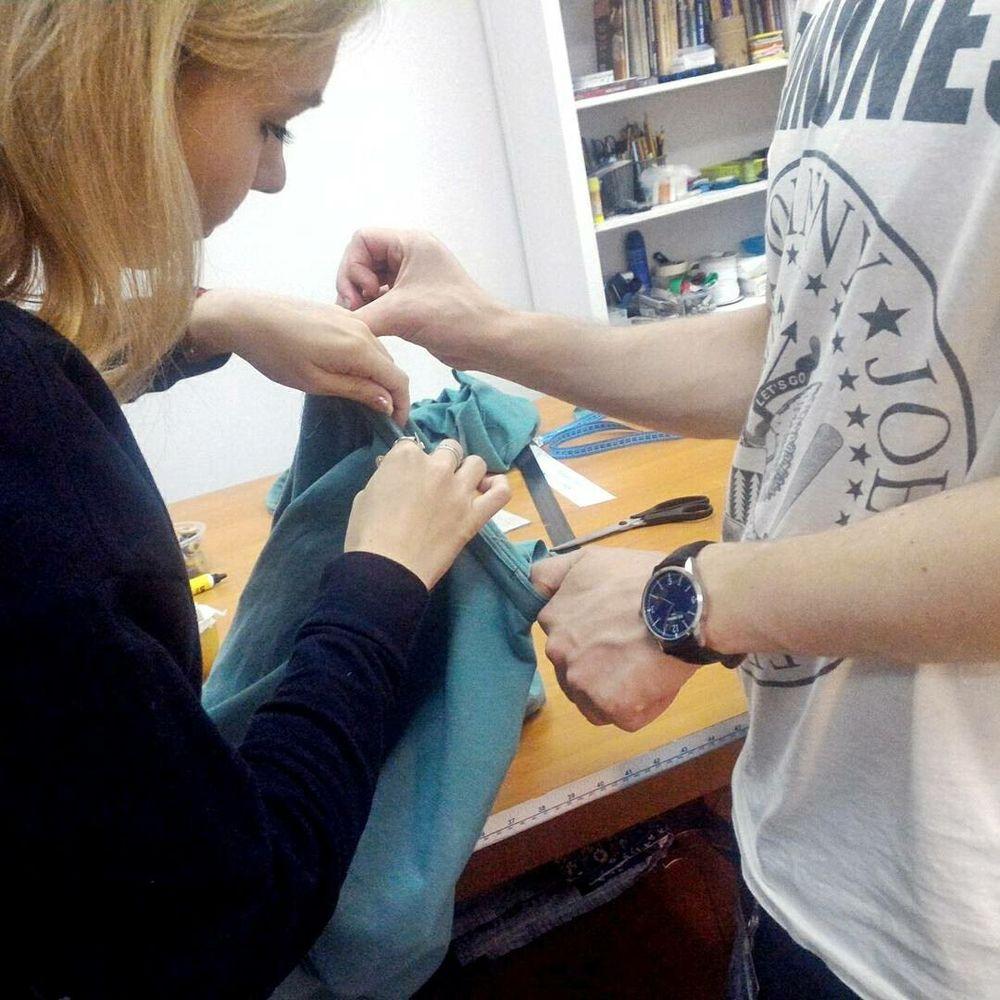 мастер-класс по шитью, лонгслив, простое шитье