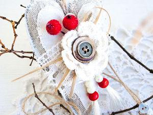 Делаем ёлочные игрушки в рустикальном стиле. Ярмарка Мастеров - ручная работа, handmade.